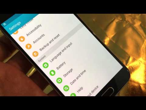 Galaxy S6 / S6 Edge: How to Change Language Back to English