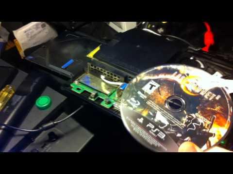 PS3 repair tip - won't spin disc, won't read disc