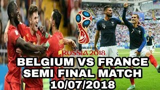 Download FRANCE vs BELGIUM (1-0)(semi finals) - Highlights & and Stats - 2018 Russia world cup Video