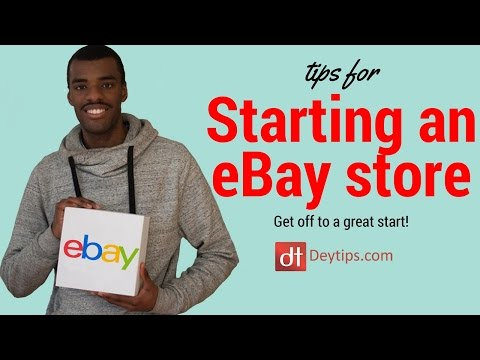 Really USEFUL eBay Store Tips - An Introduction to making a ton of sales