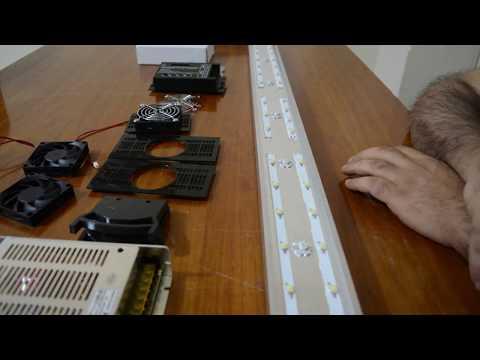 Bricolaje pantalla LED de 1m con efecto amanecer anochezer