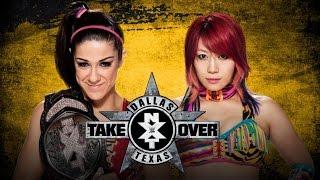 [TLB] WWE NXT TakeOver Dallas Asuka vs Bayley