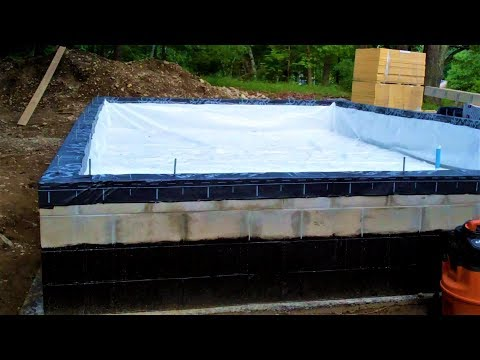 Crawlspace Vapor Barrier, Sill Plates, DIY House Build (pt 3)