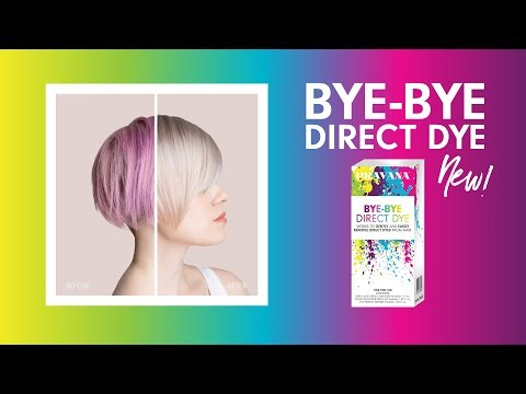 PRAVANA | Remove Hair Color with NEW Bye Bye Direct Dye