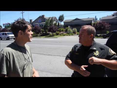 No ID Required in Washington State - Good Thurston Wa. Deputies