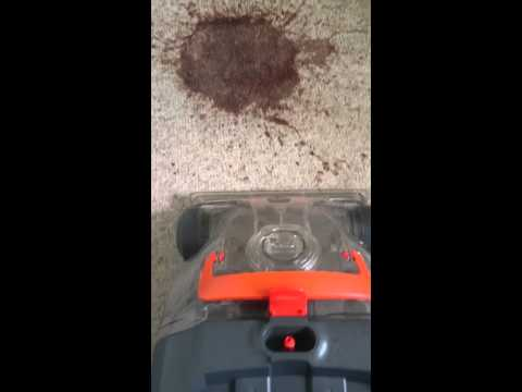 Vax Rapide Ultra 2 Cleaning VOMIT off CREAM CARPET