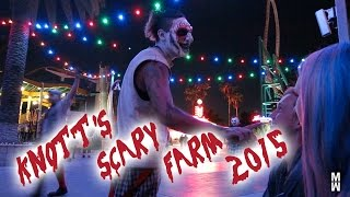 Total Horror at Knotts Scary Farm 2015