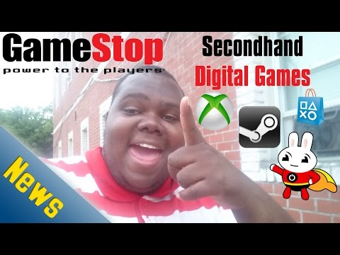 Video Game News: GameStop Wants to Sell Used Digital Games