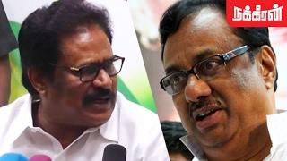 பதில் சொல்ல வேண்டிய அவசியமில்லை.? Thirunavukkarasar VS  EVKS Elangovan... Fight Begins