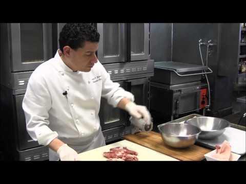 Peeking In on the Making of Fresh Duck Sausage