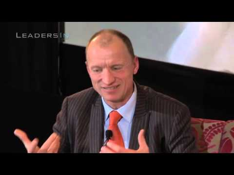 Olaf Swantee, CEO, EE - take risks if you can control the outcome!...