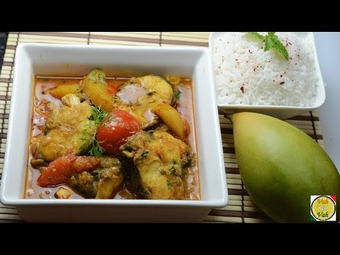 Fish With Green Mango  - By Vahchef @ vahrehvah.com
