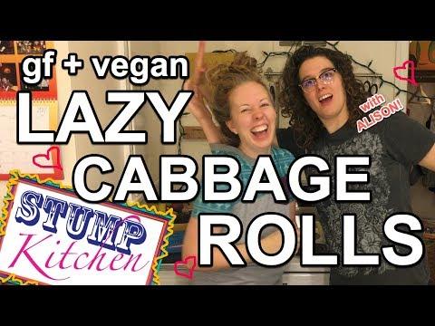 LAZY CABBAGE ROLLS [EASY, VEGAN & GLUTEN FREE!]