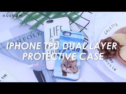 iPhone TPU Dual Layer Protective Case - Design Your Own