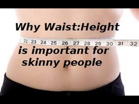 Why Your Waist:Height Ratio is so important