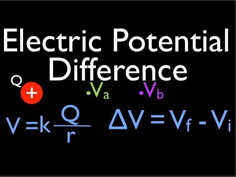 Point Charges: Electric Potential Difference