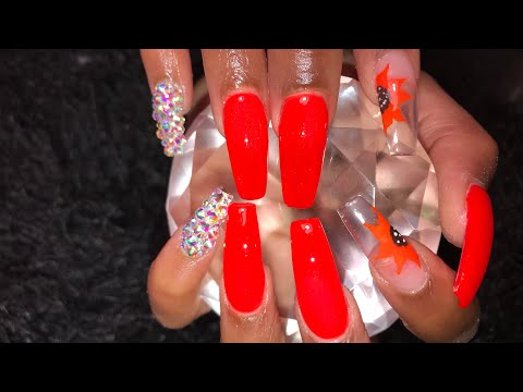 Acrylic Nails Soak Off And Full Set
