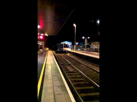 NIR Train arriving at Lurgan