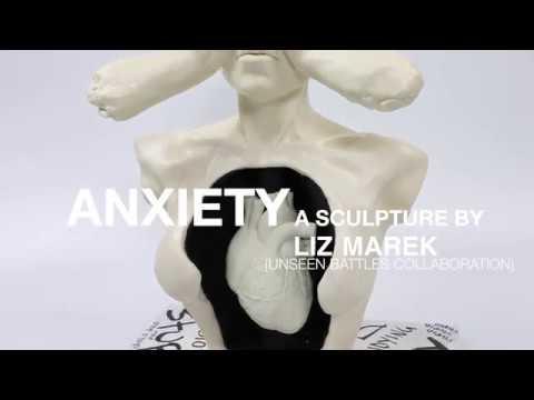 Anxiety Sculpture By Liz Marek