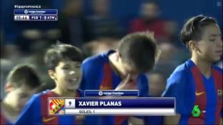 Liga Promesis Final Barcelona 6-1 Atlético 29/12/16 Partido Completo