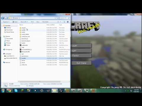 How to make a hungergames server in minecraft