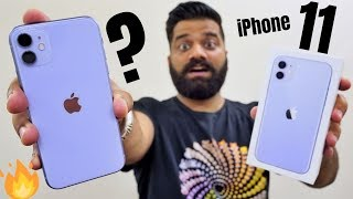 iPhone 11 Unboxing & First Look - A Solid Champ?🔥🔥🔥