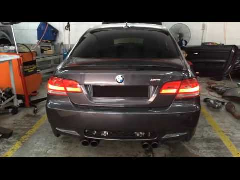 BMW E92 M3 Malaysia IPE Exhaust System