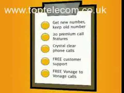 Vonage UK - Free UK And International Calls