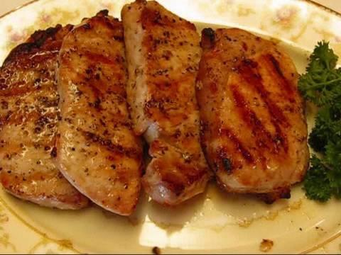 Betty's Grilled Boneless Pork Chops