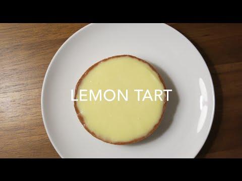 Lemon Tart With Almond Sweet Crust Recipe