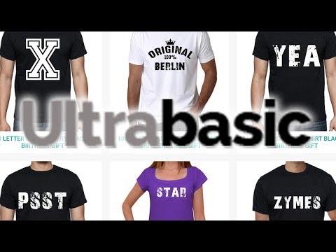 Ultrabasic Online Clothes Shop