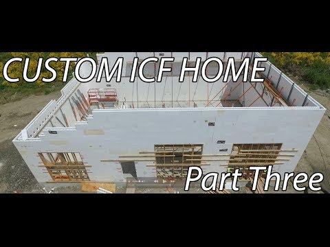 New Custom ICF Home by MACNAK Construction - Part 3 - ICF Garage/Shop - 3000sq/ft