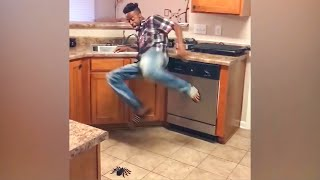 Try Not To Laugh Challenge! Funny Pranks and Scare Cam Fails 2021 #5