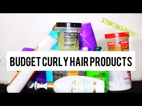 MY BEST BUDGET NATURAL HAIR PRODUCTS