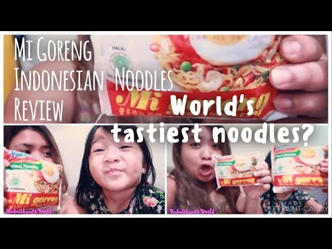 Mi Goreng Indonesian Noodles Review - Is it really the world's tastiest noodles?