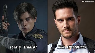 Resident Evil 2 Remake Characters Voice Actors