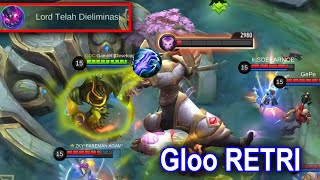 Gloo EXE RETRI Spell | Mobile Legends Funny Gameplay