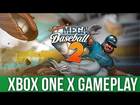 Super Mega Baseball 2 - Xbox One X Gameplay (Gameplay / Preview)
