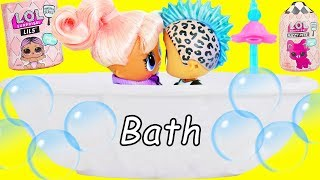 Download LOL Surprise Dolls Family Open Lils Fuzzy Pets in Disney Princess Palace   Toy Egg Video