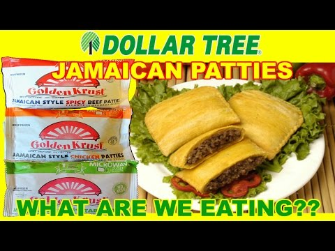Dollar Tree ONE DOLLAR Jamaican Patties - WHAT ARE WE EATING?? - The Wolfe Pit