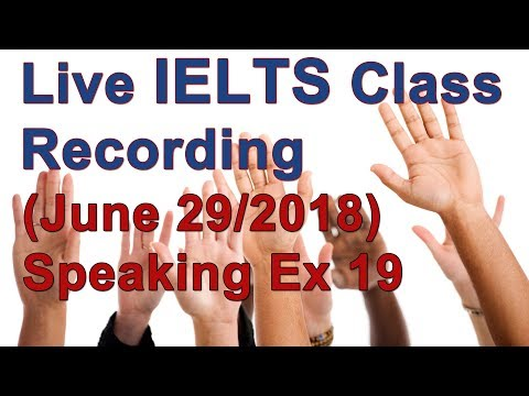 IELTS Speaking for High Scores - Example w/ Answers
