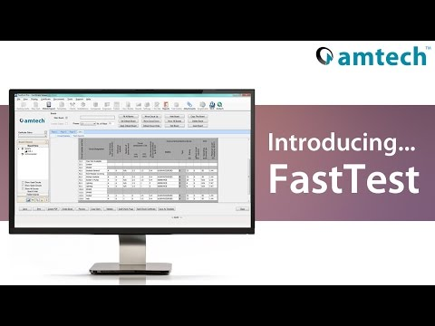 FastTest electrical certification software demo   Amtech Group - HD