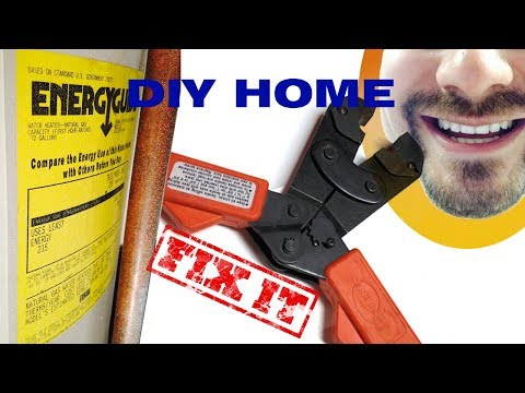How to Replace a Water Heater with Pex | FIX IT