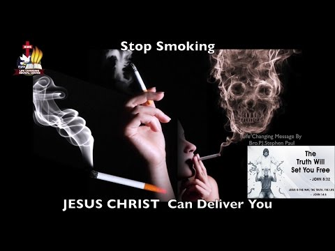 Stop Smoking - Jesus Christ Can Deliver You | Life Changing Message By Bro.P.J.Stephen Paul |