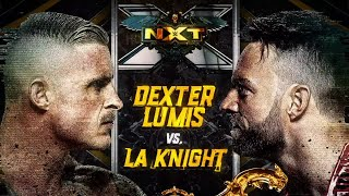 Dexter Lumis squares off against LA Knight tomorrow night on NXT
