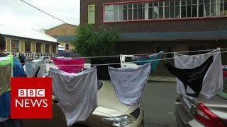 South Africa: Using dirty knickers to tackle rape - BBC News