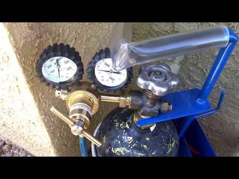 AC Leak Test Using NITROGEN!