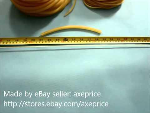 Natural Latex Rubber Band Tube For Slingshot Catapult Elastic