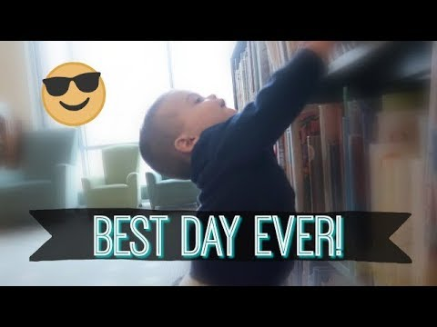 THE BEST DAY OF HIS LIFE!