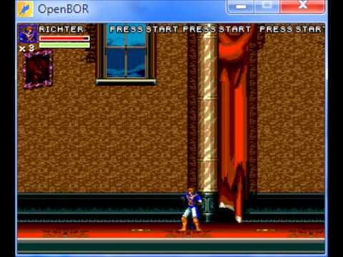 OpenBOR] Castlevania Arcade Brawler Gameplay 1